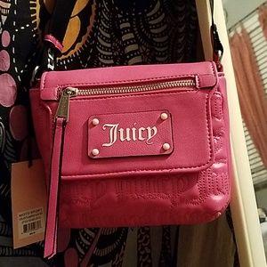 Juicy Couture pink moto sport bag nwt trendy cute
